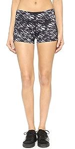 Luxe Print Hot Yoga Shorts                Beyond Yoga