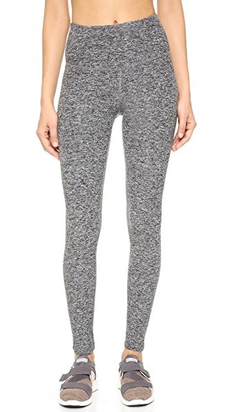 Beyond Yoga High Waist Long Leggings - Black Space Dye