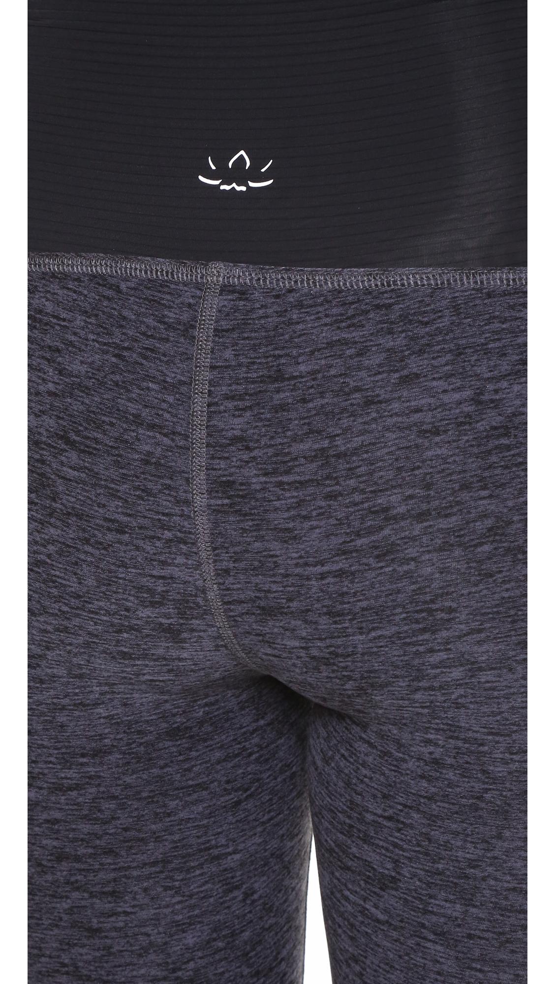 Space Dye Performance Maternity Capri Leggings