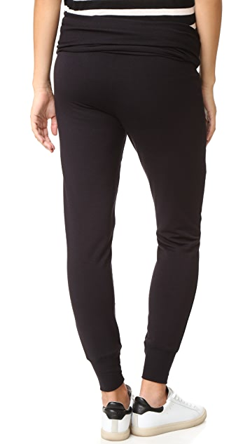 Beyond Yoga Fold Over Maternity Sweatpants