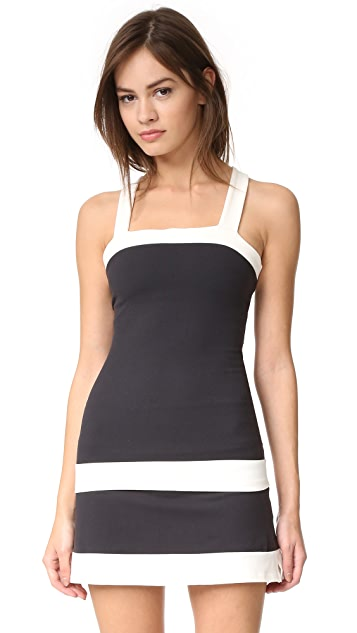 Beyond Yoga Kate Spade New York Blocked Frame Tank
