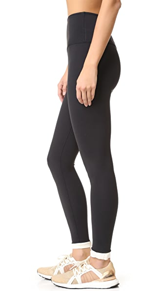 Beyond Yoga Kate Spade New York Blocked Frame Long Leggings - Black