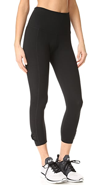 Beyond Yoga Kate Spade New York Side Bow Capri Leggings