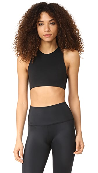 Beyond Yoga Wide Band Stacked Bra - Jet Black