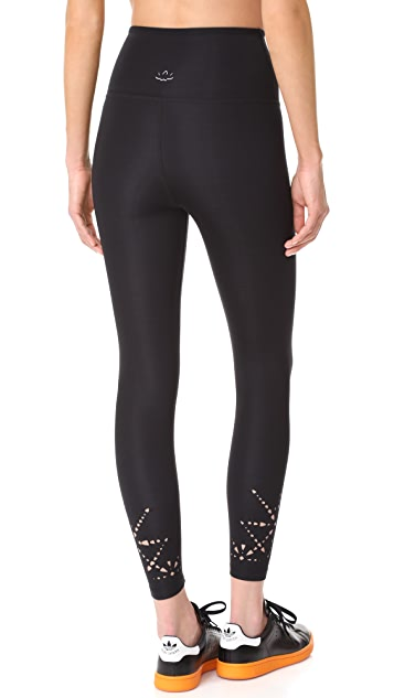 Beyond Yoga Knit Down High Waisted Midi Leggings