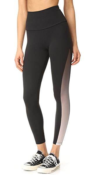 Beyond Yoga High Waisted Midi Leggings - Jet Black