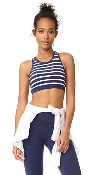 Beyond Yoga x Kate Spade New York Sailing Stripe Bralette In Sailing Stripe