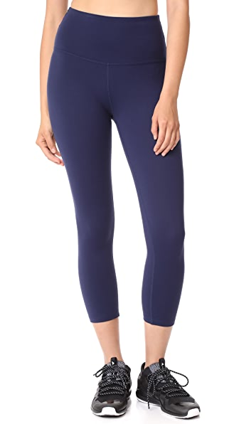 Beyond Yoga High Waisted Capri Leggings - Valor Navy