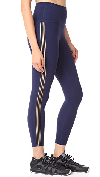 Beyond Yoga Sheer Illusion High Waisted Midi Leggings