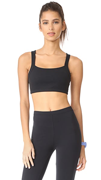 Beyond Yoga x Kate Spade New York Madison Bow Bralette - Jet Black