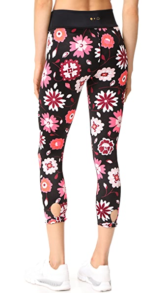 Beyond Yoga x Kate Spade New York Leaf Bow Capri Leggings