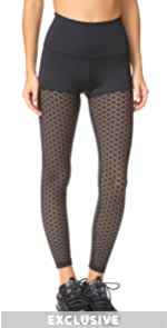 Perfect Thigh High Waisted Midi Leggings Beyond Yoga