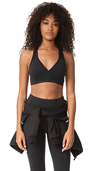 Beyond Yoga Life and Support Bra - Jet Black