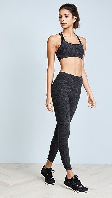 Beyond Yoga Cross It Back Midi Leggings