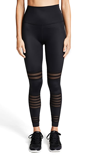 Beyond Yoga Mesh to Impress Leggings In Black