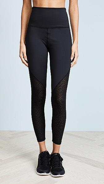 Beyond Yoga Cut It Close Leggings In Black