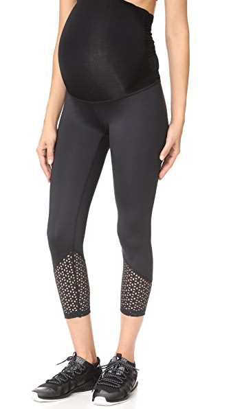 Maternity Perfect Cuff Capri Leggings