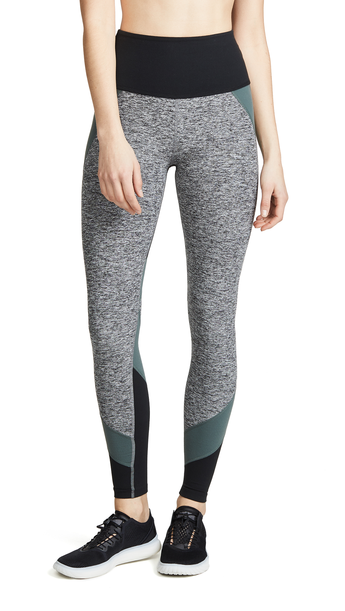 Beyond Yoga Colorblocked High Rise Long Leggings