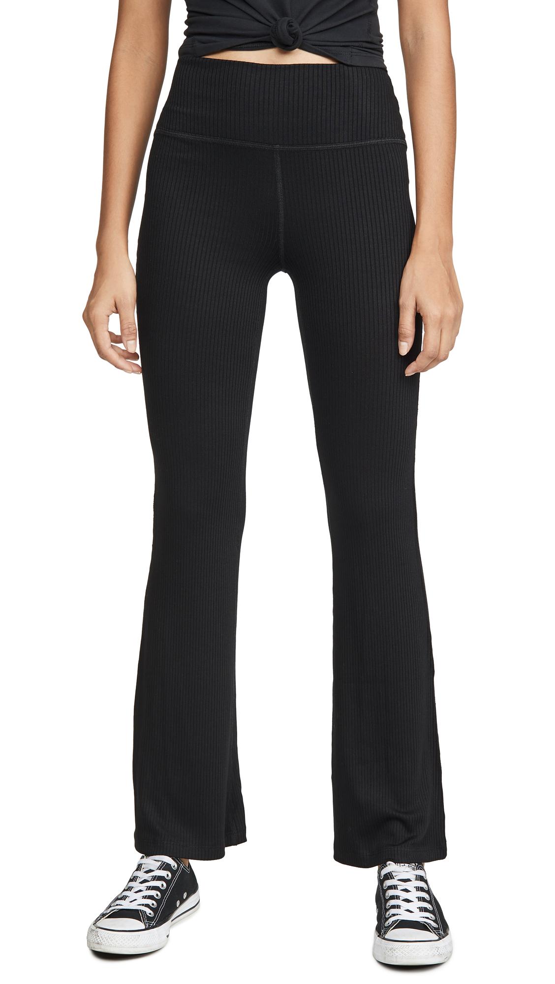 Buy Beyond Yoga online - photo of Beyond Yoga Step Beyond High Waisted Mini Bell Pants