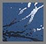 голубой горизонт/блестящий темно-синий мраморный