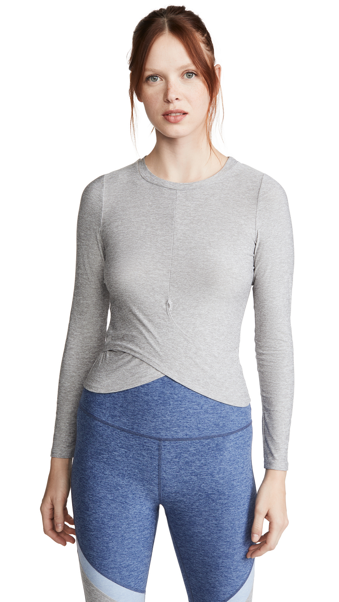 Buy Beyond Yoga online - photo of Beyond Yoga Under Over Lightweight Pullover