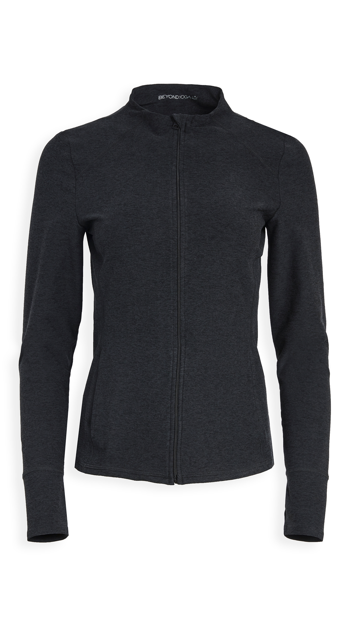 Beyond Yoga Fitted Mock Neck Jacket