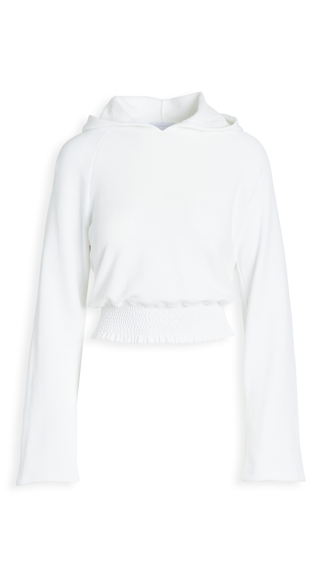 Beyond Yoga Lets Smock About It Cropped Hoodie