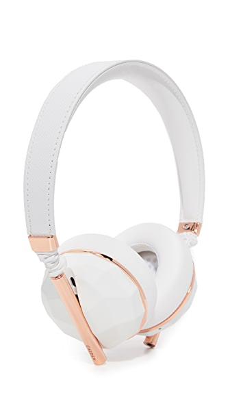 Caeden Linea N 10 Bluetooth Wireless Headphones - Ceramic/Rose Gold