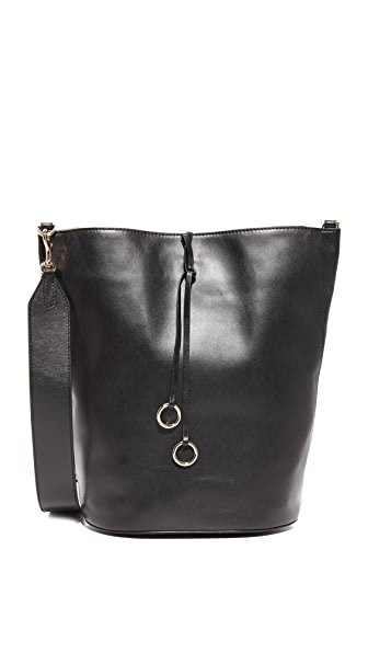 Cafune Basket Hobo Bag - Black