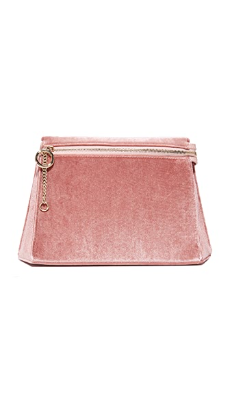 Cafune Camber Clutch - Dusty Rose