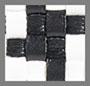 черно-белое плетение