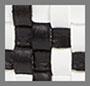 Black White Woven