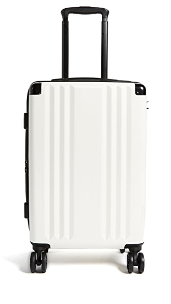 CALPAK Ambeur Carry On Suitcase In White