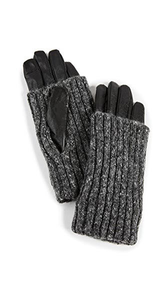 CAROLINA AMATO OVERLAY TEXTING GLOVES