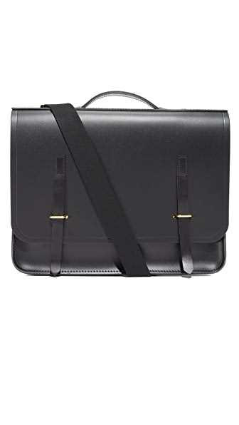 Cambridge Satchel Slim Bridge Closure Messenger