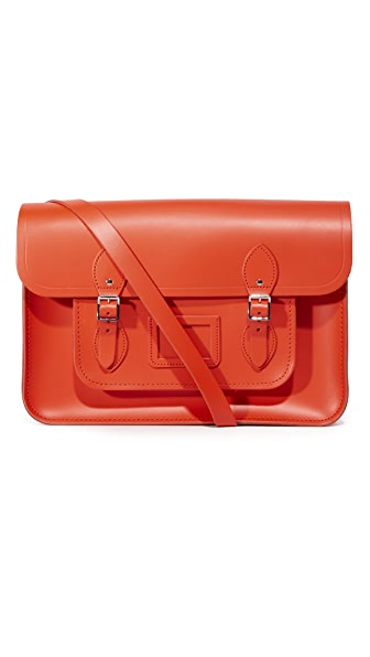 "Cambridge Satchel 15"" Classic Satchel"