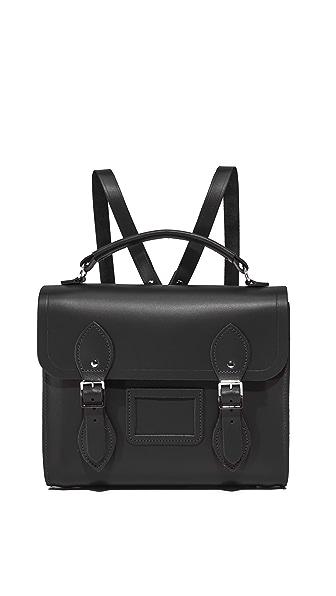 Cambridge Satchel Barrel Backpack In Black