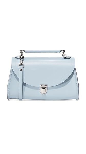 Cambridge Satchel Mini Poppy Cross Body Bag - Periwinkle Blue