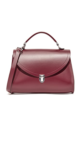Cambridge Satchel The Poppy Bag - Oxblood