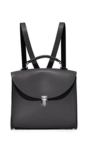 Cambridge Satchel The Poppy Backpack - Black