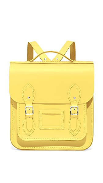 Cambridge Satchel Small Portrait Backpack - Quince