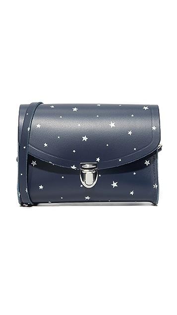 Cambridge Satchel Star Print Push Lock Bag