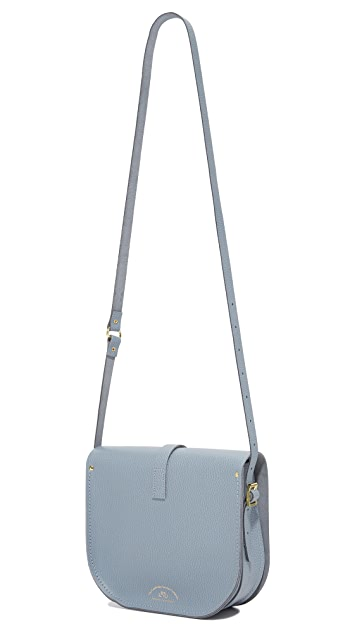 Cambridge Satchel Large Saddle Bag