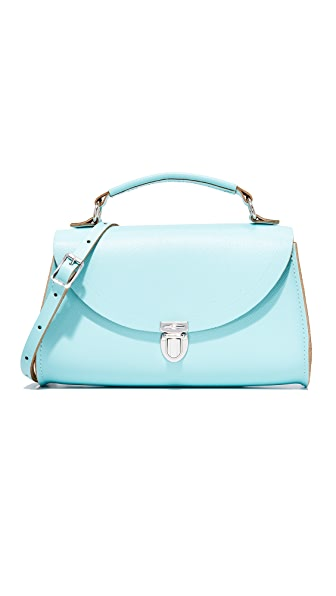 Cambridge Satchel Mini Poppy Top Handle Bag - Cambridge Blue