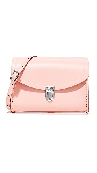 Cambridge Satchel Push Lock Bag - Seashell Pink