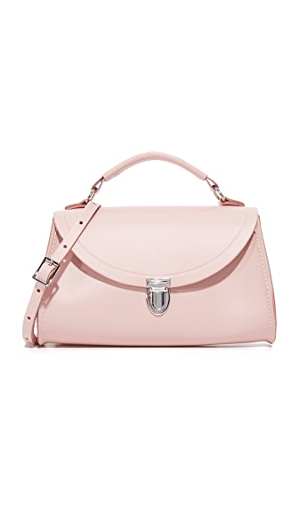 Cambridge Satchel Mini Poppy Top Handle Bag - Dusky Rose