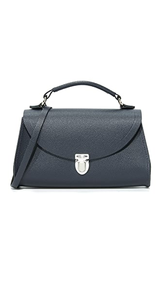 Cambridge Satchel Mini Poppy Bag - Navy