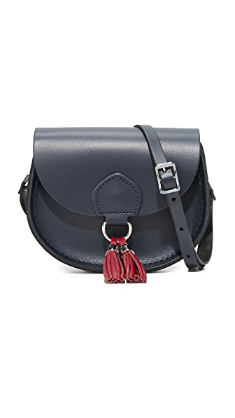 Cambridge Satchel Mini Tassel Bag - Navy Rhubarb