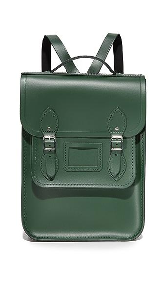 Cambridge Satchel Folio Backpack - Green