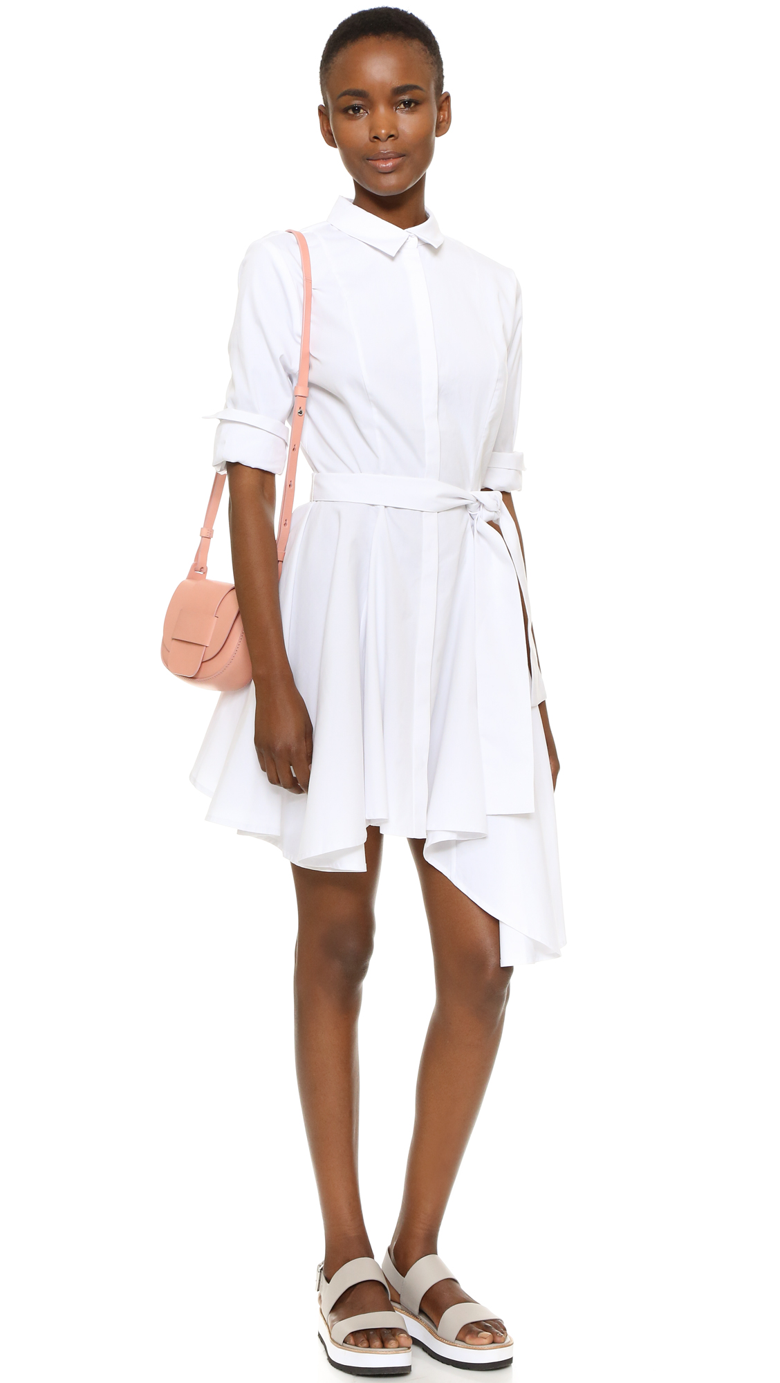 Cameo collective white dress